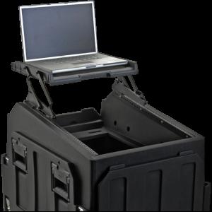 GigRig A/V Laptop Scissor Hinged Shelf Case