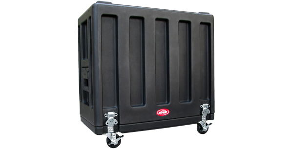 Black Roto Shockmount Rack Case