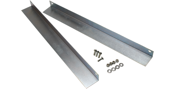 Silver Support Rails