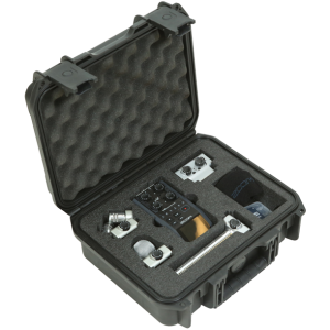Black Waterproof Utility Case with Custom Interior Design