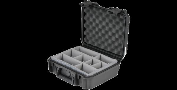 Black Waterproof Utility Case with Custom Interior Dividers