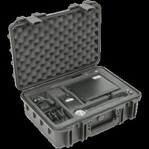 Black Waterproof Utility Case with Custom Interior