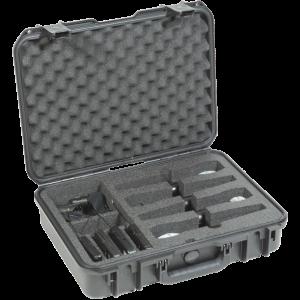 Black Waterproof Utility Case with Custom Interior Foam Dividers