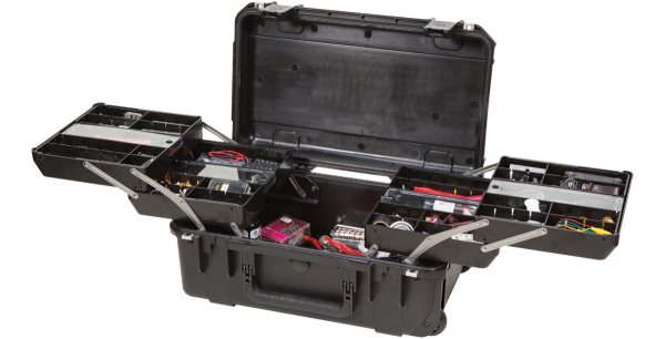 Black Watertight Tech Box