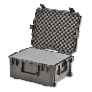 Black Waterproof Utility Case with Cubed Foam