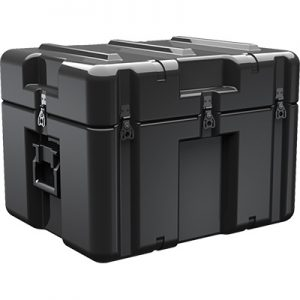 Black Single Lid Shipping Case