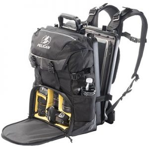 Black Pelican Backpack Camera Case