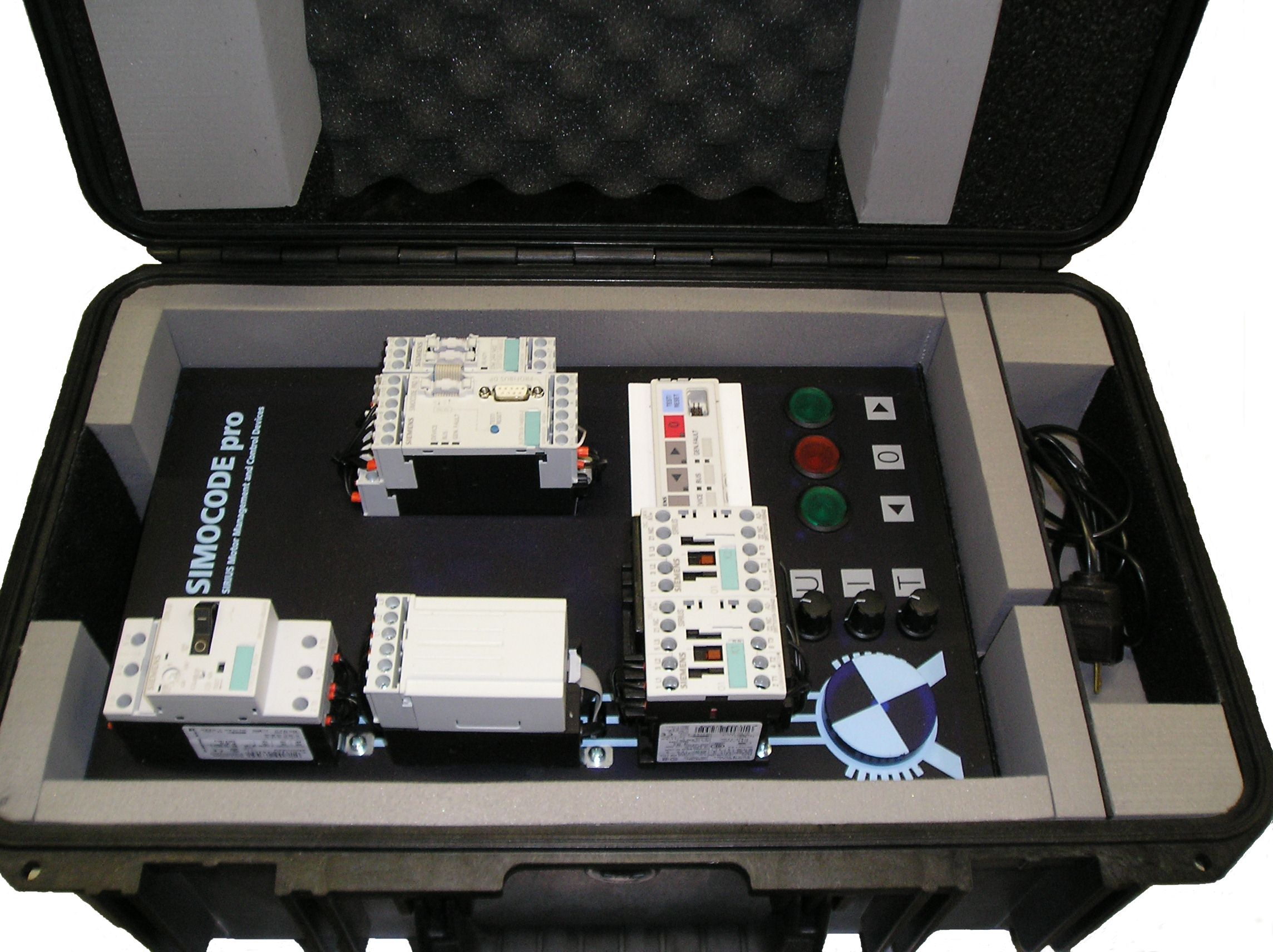 Black Panel Equipment Case