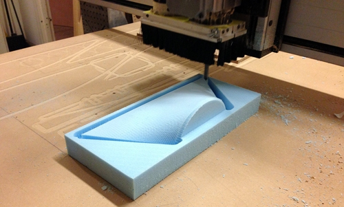 Custom Router Cutting Foam