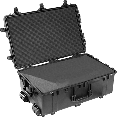 Black Airplane Carry on Case
