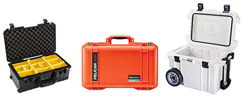 Orange Pelican Watertight Case