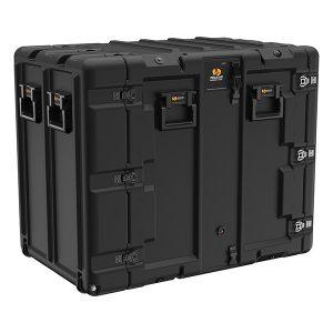 Black Pelican Rack Mount Case